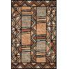 This item: Nala Walnut Multicolor Rectangular: 7 Ft. 9 In. x 9 Ft. 9 In. Rug