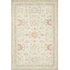 This item: Norabel Ivory Rust Rectangular: 2 Ft. 6 In. x 9 Ft. 9 In. Rug