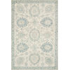 This item: Norabel Ivory Blue Rectangular: 2 Ft. 3 In. x 3 Ft. 9 In. Rug