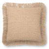 This item: Beige 22 x 22-Inch Machine Made Pillow