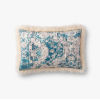 This item: Ivory Multicolor Acrylic and Polyester 13 In. x 21 In. Throw Pillow Cover