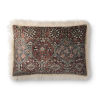 This item: Ivory Multicolor 16 In. x 26 In. Throw Pillow Cover