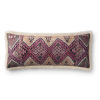 This item: Ivory Multicolor 13 In. x 35 In. Throw Pillow Cover