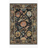 This item: Padma Black and Multicolor Rectangle: 5 Ft. x 7 Ft. 6 In. Rug