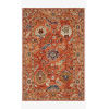 This item: Padma Orange and Multicolor Rectangle: 7 Ft. 9 In. x 9 Ft. 9 In. Rug