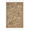 This item: Padma Gray and Multicolor Rectangle: 7 Ft. 9 In. x 9 Ft. 9 In. Rug