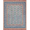 This item: Justina Blakeney Teal and Fiesta 60 x 60-Inch Hooked Rug