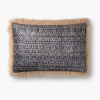 This item: Beige Multicolor 16 In. x 26 In. Throw Pillow Cover with Poly Insert