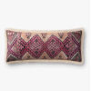 This item: Ivory Multicolor 13 In. x 35 In. Throw Pillow Cover with Poly Insert