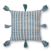 This item: Blue and Teal 18 x 18 In. Pillow Cover with Poly Insert