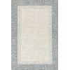 This item: Rosina Gray and Blue 2 Ft. 3 In. x 3 Ft. 9 In. Hand Tufted Rug