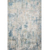 This item: Sienne Gray and Blue 94 x 130-Inch Power Loomed Rug