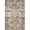 This item: Skye Apricot and Mist 42 x 66-Inch Power Loomed Rug