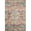 This item: Skye Terracotta and Sky 108 x 144-Inch Power Loomed Rug