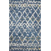 This item: Symbology Denim Dove Rectangle: 3 Ft. 6 In. x 5 Ft. 6 In. Rug