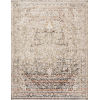 This item: Theia Taupe and Brick 34 x 120-Inch Power Loomed Rug