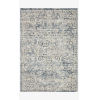 This item: Theory Ivory and Blue Rectangle: 2 Ft. 7 In. x 4 Ft. Rug
