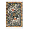 This item: Justina Blakeney Tigress Teal and Grey Rectangle: 5 Ft. x 7 Ft. 6 In. Rug