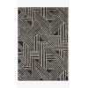 This item: Verve Charcoal and Neutral Rectangle: 3 Ft. 6 In. x 5 Ft. 6 In. Rug
