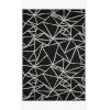 This item: Verve Black and Ivory Rectangle: 7 Ft. 9 In. x 9 Ft. 9 In. Rug