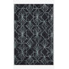 This item: Verve Denim and Ocean Rectangle: 2 Ft. 3 In. x 3 Ft. 9 In. Rug