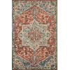 This item: Victoria Red with Multicolor Rectangle: 2 Ft. 3 In. x 3 Ft. 9 In. Rug