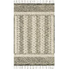This item: Zharah Charcoal and Taupe 7 Ft. 9 In. x 9 Ft. 9 In. Hooked Rug