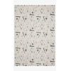This item: Hagen Blue and Multicolor Rectangular: 3 Ft. 7 In. x 5 Ft. 7 In. Area Rug
