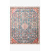 This item: Layla Marine and Clay Rectangular: 2 Ft. 6 In. x 9 Ft. 6 In. Area Rug