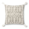 This item: Justina Blankeney Gray Ivory 22 x 22 Inch Pillow
