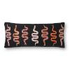 This item: Justina Blankeney Black Multicolor 13 x 35 Inch Pillow