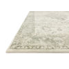 This item: Rosette Ivory Silver Rectangular: 2 Ft. 2 In. x 3 Ft. 8 In. Rug