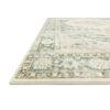 This item: Rosette Teal Ivory Rectangular: 7 Ft. 6 In. x 9 Ft. 6 In. Rug