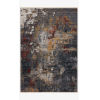This item: Samra Dark Gray and Spice Rectangular: 7 Ft. 10 In. x 10 Ft. Area Rug