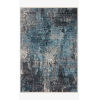 This item: Samra Charcoal and Sky Rectangular: 5 Ft. 3 In. x 7 Ft. 9 In. Area Rug