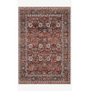 This item: Samra Brick and Multicolor Rectangular: 7 Ft. 10 In. x 10 Ft. Area Rug