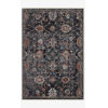 This item: Samra Charcoal and Multicolor Rectangular: 2 Ft. 7 In. x 12 Ft. Area Rug