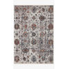 This item: Samra Ivory and Multicolor Rectangular: 2 Ft. 7 In. x 12 Ft. Area Rug