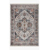 This item: Samra Ivory and Denim Rectangular: 2 Ft. 3 In. x 3 Ft. 10 In. Area Rug