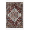 This item: Samra Brick and Gray Rectangular: 5 Ft. 3 In. x 7 Ft. 9 In. Area Rug