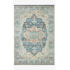 This item: Skye Ocean and Multicolor Rectangular: 3 Ft. 6 In. x 5 Ft. 6 In. Area Rug