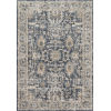 This item: Teagan Denim and Pebble 2 Ft. 8 In. x 10 Ft. 6 In. Rectangular Rug