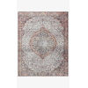 This item: Wynter Red and Multicolor Rectangular: 8 Ft. 6 In. x 11 Ft. 6 In. Area Rug