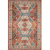 This item: Zion Red Multicolor Rectangular: 2 Ft. 3 In. x 3 Ft. 9 In. Rug