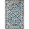 This item: Skye Denim And Natural Rectangular: 2 Ft. 3 In. X 3 Ft. 9 In. Rug