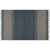 This item: Crafted by Loloi Solano Blue Rectangle: 7 Ft. 9 In. x 9 Ft. 9 In. Rug