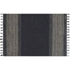 This item: Crafted by Loloi Solano Ink Rectangle: 3 Ft. 6 In. x 5 Ft. 6 In. Rug