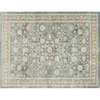 This item: Crafted by Loloi Trousdale Blue Round: 7 Ft. 10 In. x 7 Ft. 10 In. Rug
