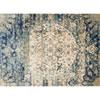 This item: Anastasia Blue and Ivory Rectangular: 5 Ft 3 In x 7 Ft 8 In Rug
