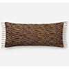 This item: Multicolor 13 In. x 35 In. Throw Pillow with Down Fill